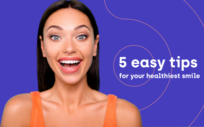 Improve your smile - 5 easy tips
