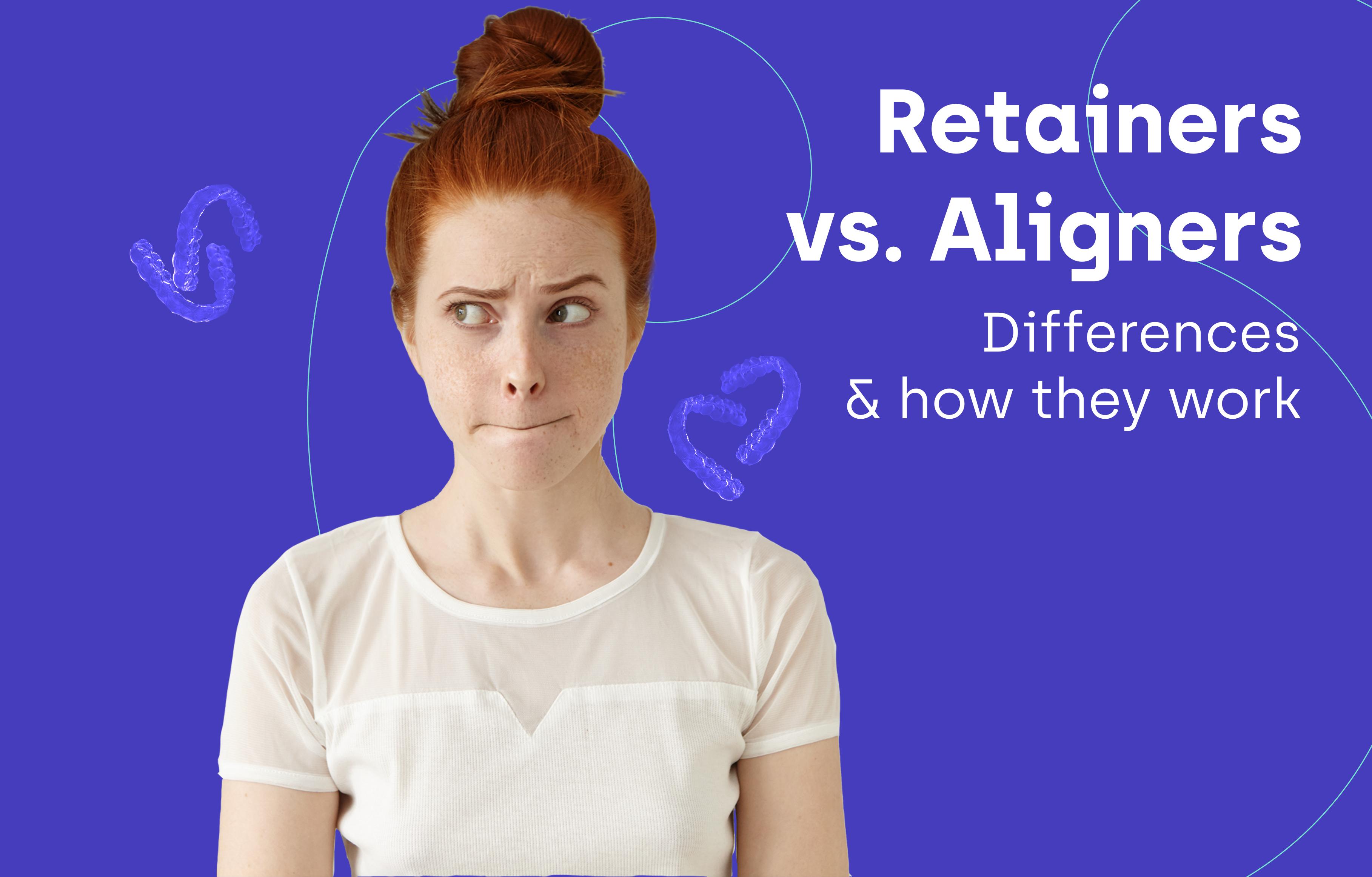 retainers vs aligners